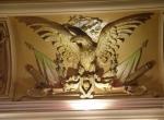 Águila republicana de la escocia del plafón.