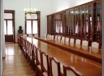 "Salón de protocolos, anteriormente Biblioteca ""Benito Juarez""."